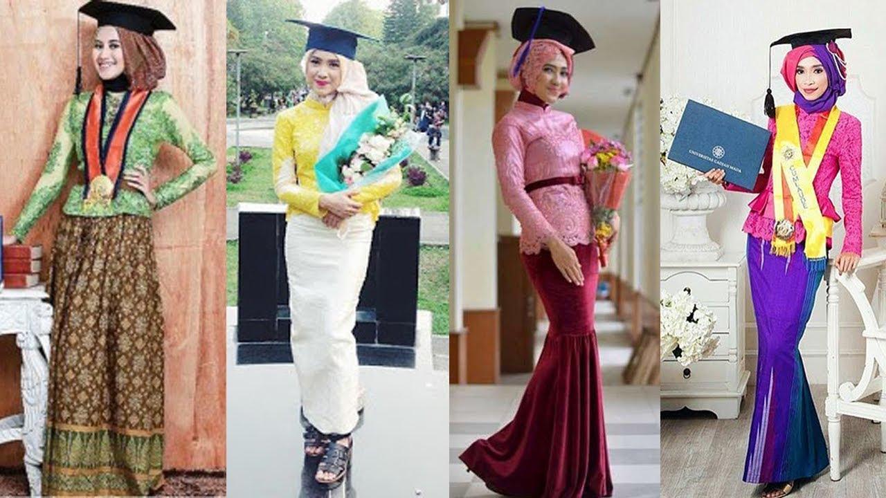 Model Hijab Kebaya Untuk Wisuda Simpel Dan Elegan
