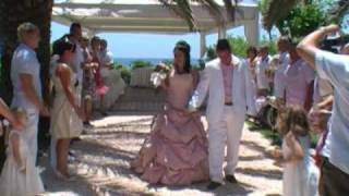 Cyprus Wedding video Nissi Beach Hotel Ayia Napa Cyprus Wedding www.yourweddingvideocyprus.com