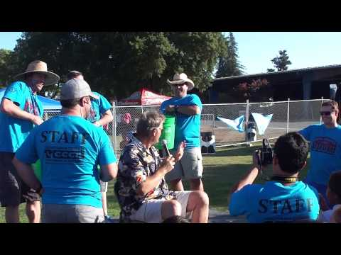Brent Farris from KZST and the KAPRI Ice Bucket Challenge