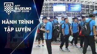 Đội tuyển Việt Nam lên đường sang Hàn Quốc tập huấn | VFF Channel