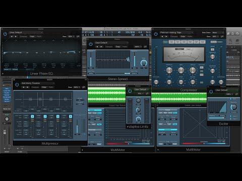 Basic Mastering with Logic Pro X