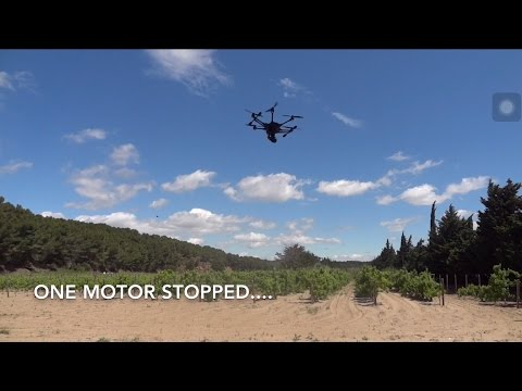 Yuneec Typhoon H - 2 Motor Failure & consequences
