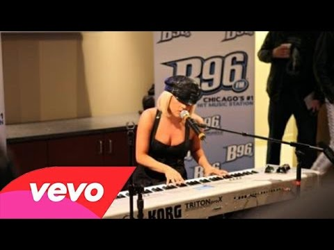 Lady Gaga  Poker Face  at B96 Radio
