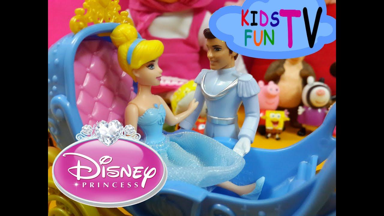 Magic Clip Disney Princess Cinderella Prince Charming Маша