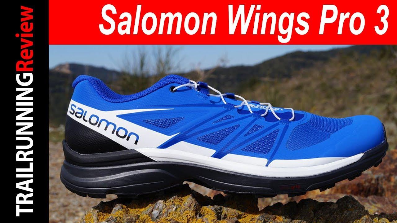2019 auténtico nuevo estilo de bastante baratas Salomon Wings Pro 3 Review