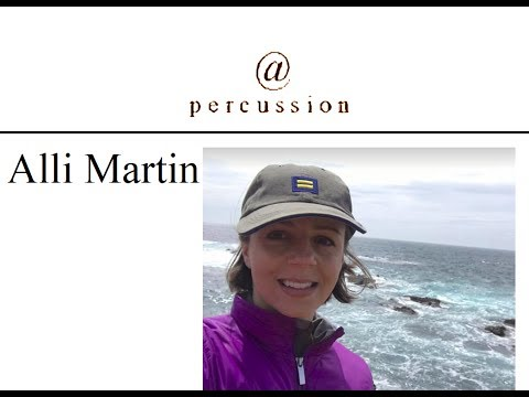 @ Percussion Episode 103 with Assistant Principal, Alli Martin