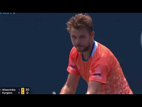 Stan Wawrinka vs Nick Kyrgios - HIGHLIGHTS CANADA 2018