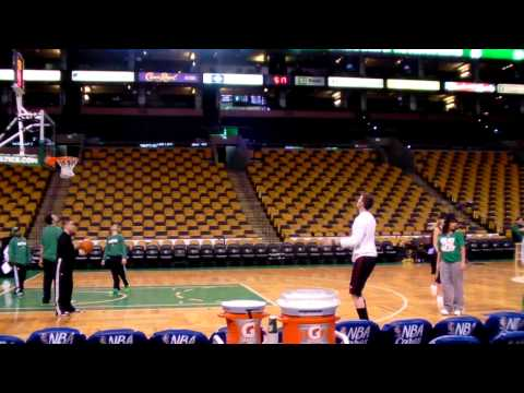 Mike Miller pre-game workout 5/7/11