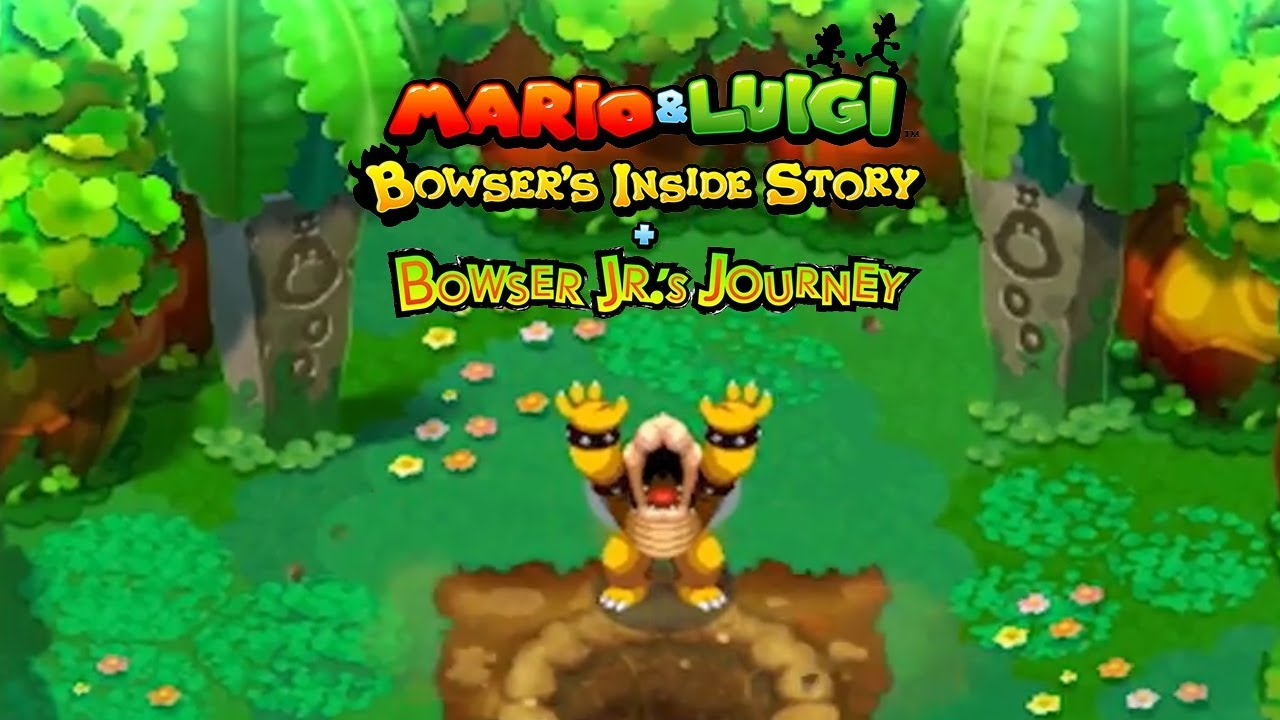 Image result for Mario & Luigi: Bowser's Inside Story + Bowser Jr's Journey