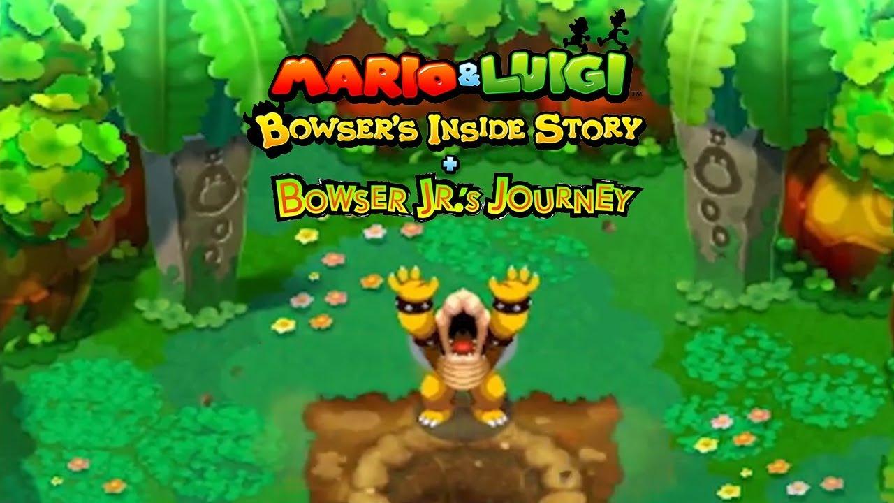 Image result for Mario & Luigi: Bowser's Inside Story + Bowser Jr's Journey