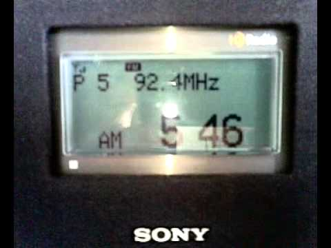 FM DX sporadic E in Holland: Belarus Radio Minsk 92.4 MHz 26-5-2011