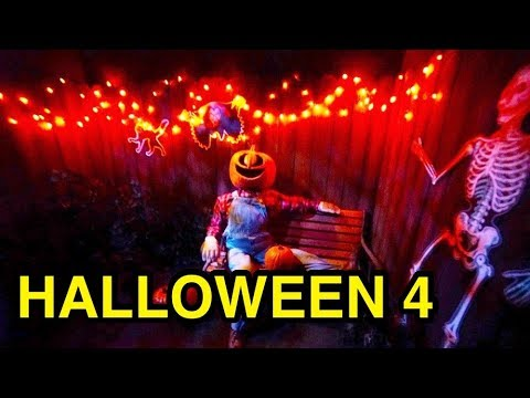 Halloween 4 The Return of Michael Myers - HHN 2018 (Universal Studios, CA)