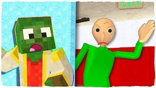 Manucraft Vs Baldi El Escondite De Minecraft