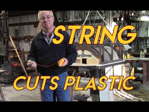 String Cuts Plastic