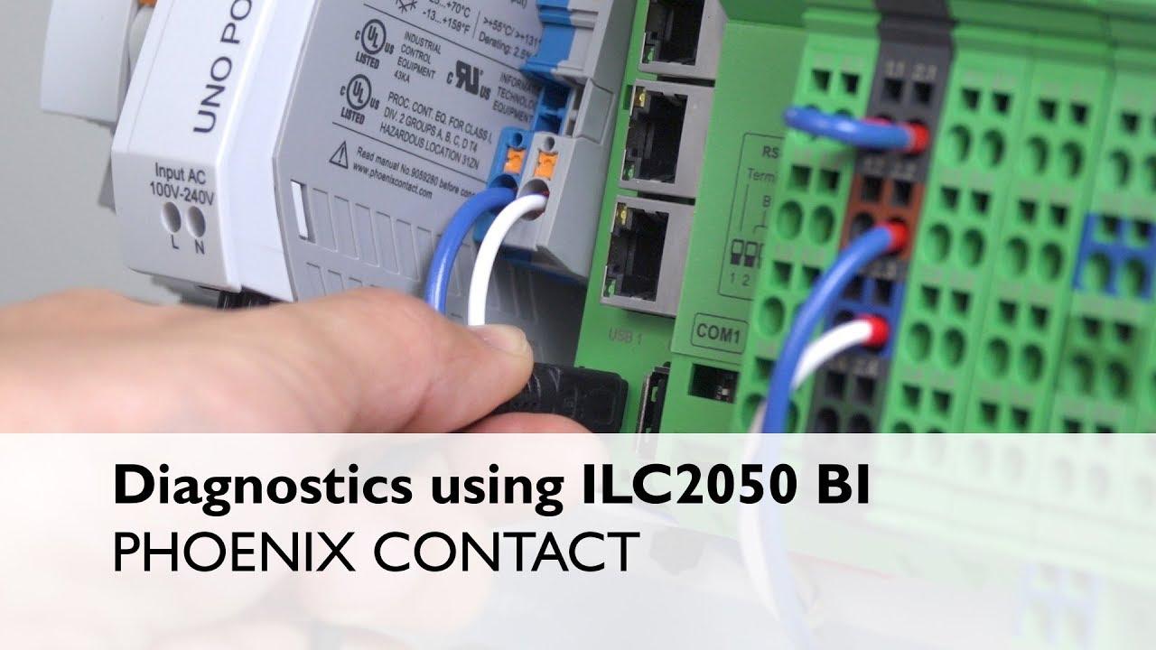 Diagnostics of Phoenix Contact Niagara Controller