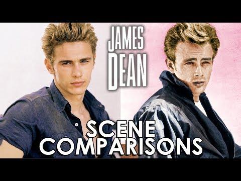James Dean and James Franco | James Dean (2001) - scene comparisons