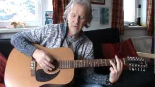 With A Little Help From My Friends: guitar lesson for beginners