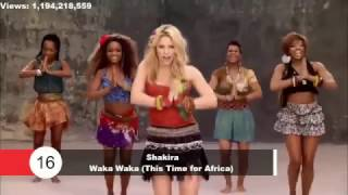 Top 100 Most Viewed Songs Of All Time VEVO