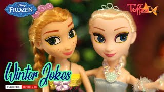 Funny Christmas Jokes - Disney Frozen Elsa & Anna