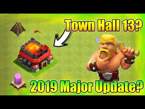 Clash Of Clans New Update : Town Hall 13 Is Coming? | 2019 Next Major Update