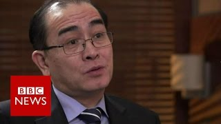 North Korean defector's family heartbreak   BBC News