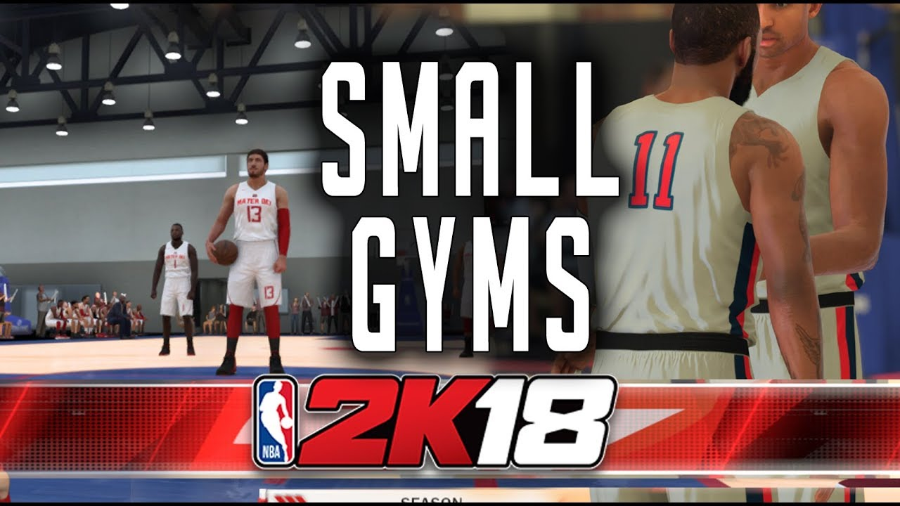 Using Small Gyms | NBA 2K18 PC | FunnyCat TV
