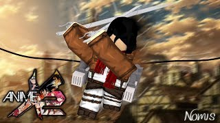 MIKASA ACKERMAN SLICES PEOPLE TO PIECES!! | Roblox: Anime Cross 2
