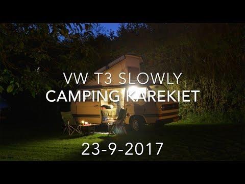 Vw T3 Westfalia  SLOWLY Weekendje Buren   Camping Karekiet