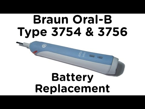 Replacing The Battery In A Braun Electric Toothbrush