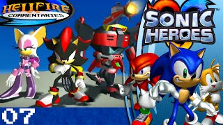 Sonic Heroes playthrough [Part 7: Egg Fleet + Final Fortress]