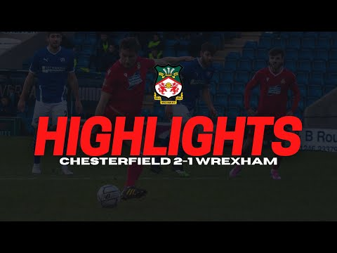 Chesterfield Wrexham Goals And Highlights