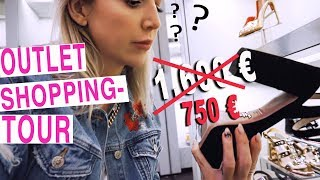 Come shopping with me  ! Designer OUTLET Shopping ! Vlog