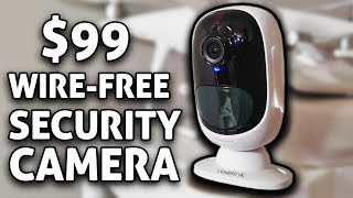 $99 Wire-Free 1080p HD Security Camera! Reolink Argus REVIEW