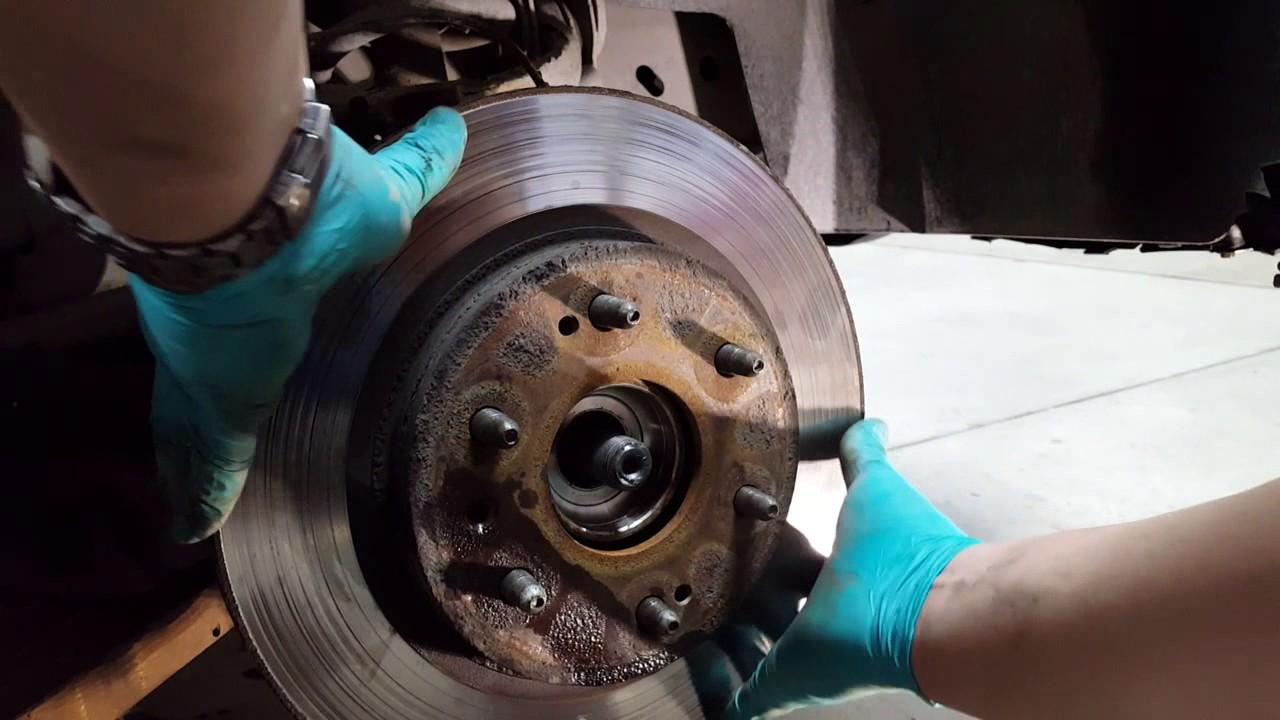 2008 Chevy Silverado 1500 4x4: Wheel Bearing Replacement ...