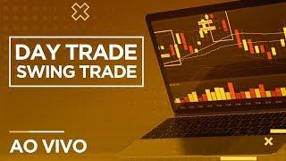 Day Trade e Swing Trade AO VIVO - Mini Dólar, Mini Índice e Ações – Nova Futura 14/10/2019