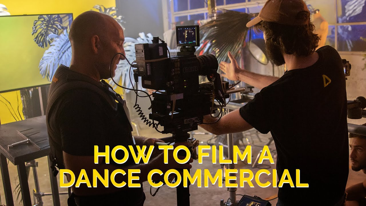 How To Shoot a Dance Commercial - Behind The Scenes