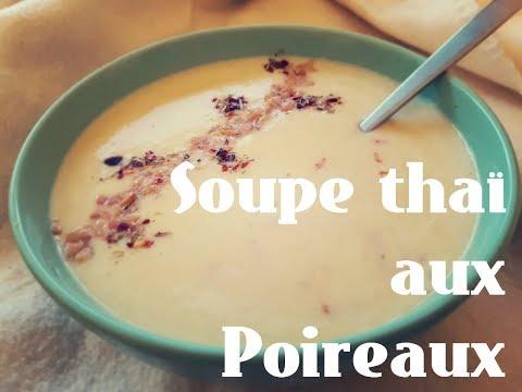 recette-vegan--soupe-thaï-aux-poireaux