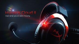 Casque-micro USB pour le jeu, avec des performances audio de haut niveau | HyperX Cloud II