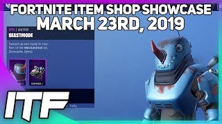 Fortnite Item Shop *NEW* BEASTMODE OUTFIT + MULTIPLE STYLES! [March 23rd, 2019]
