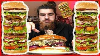 Dünyanın En Büyük Hamburgerini Yedim!  #SıkıyorsaYap