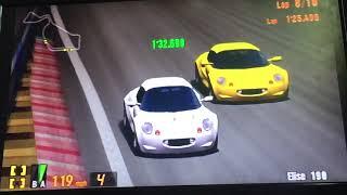 Gran Turismo 3 Elise 190, The Lotus Elise Sonic Heroes Racing's 7/9 ⭐️ 🏁