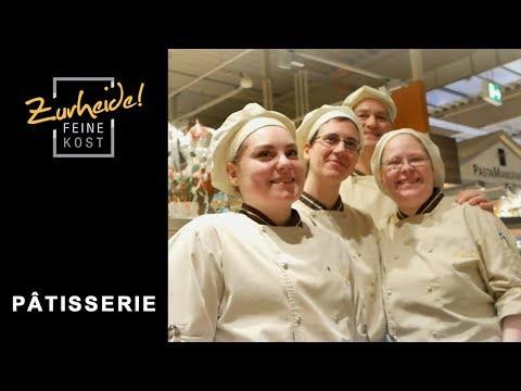 Die Pâtisserie – traditionelles Konditoren-Handwerk bei Zurheide Feine Kost