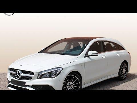 Mercedes Benz Cla Klasse Cla 180 Shooting Brake White Art Edition