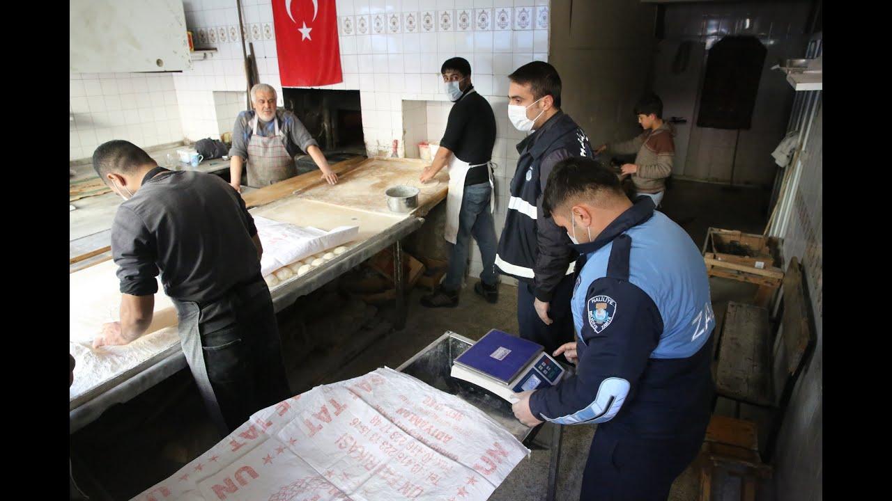 Haliliye'de zabıta ekipleri, fırsatçılara geçit vermiyor