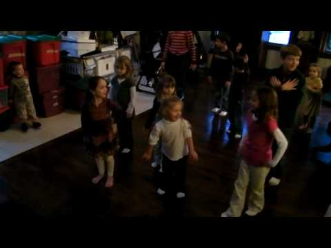Aunt mary's birthday -polish dance song with kids