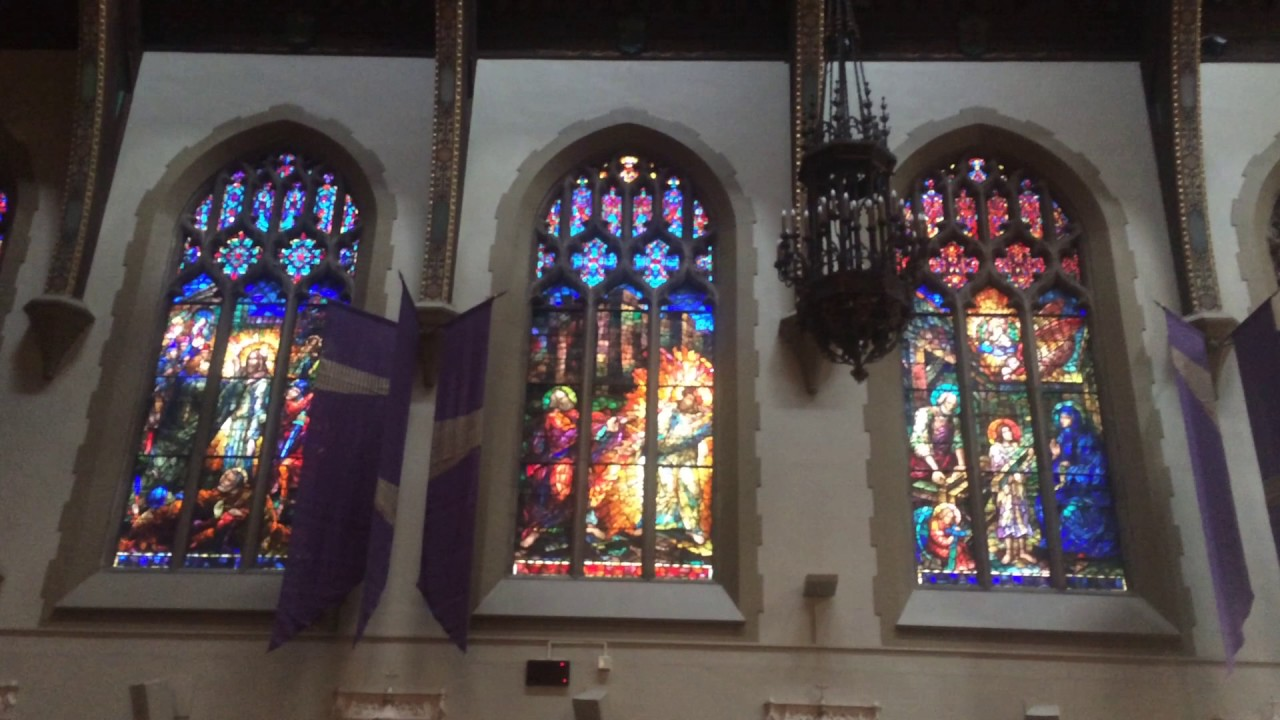 Stained Glass Windows Of St Brendan Catholic Church Los Angeles 3 08 2017