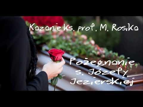 Pożegnanie s. Józefy Jezierskiej