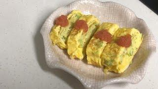 명란 계란말이이고 싶었던 계란말이 만들기ㅣ초간단 자취요…