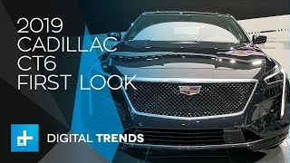 2019 Cadillac CT6  - First Look at New York Auto Show 2018