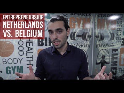 #67: Entrepreneurship in Netherlands VS  Belgium